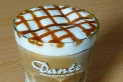 a cup of dante coffee