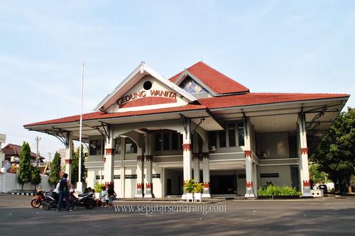 Foto Gedung Wanita Semarang Sriwijaya