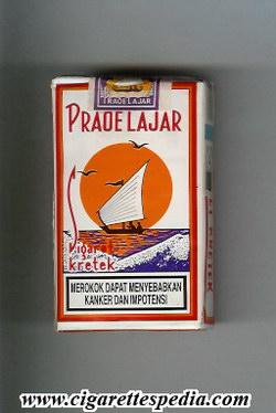 Sebungkus Rokok Praoe Lajar Kretek
