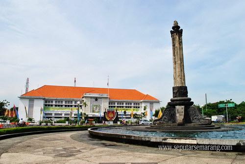 Tugu Muda Semarang, Tugu Peringatan Pertempuran 5 Hari