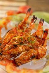 Udang Bakar Merah Sea Food