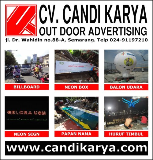 CV Candi Karya, Vendor Outdoor Advertising di Semarang