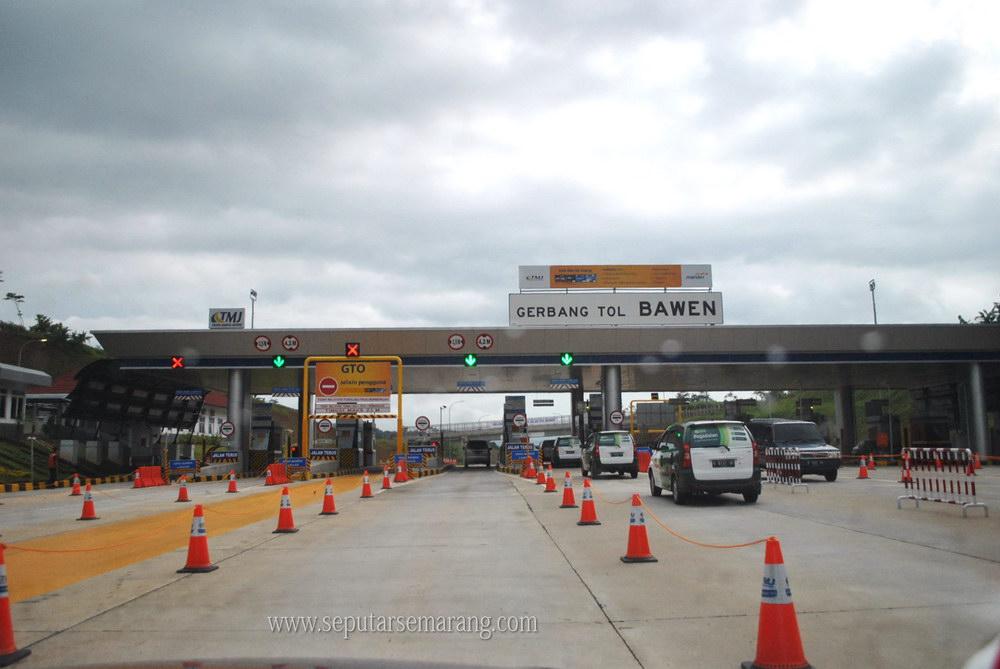Jalan Tol Semarang - Solo Seksi II Ungaran - Bawen | Seputar Semarang