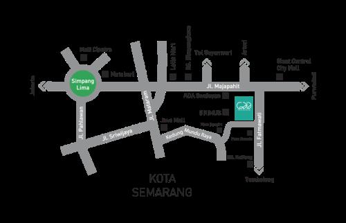 Peta Lokasi Gaia Residence