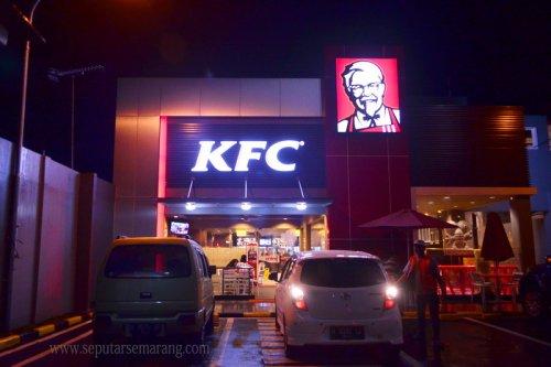 KFC Semarang MT Haryono, Buka 24 Jam