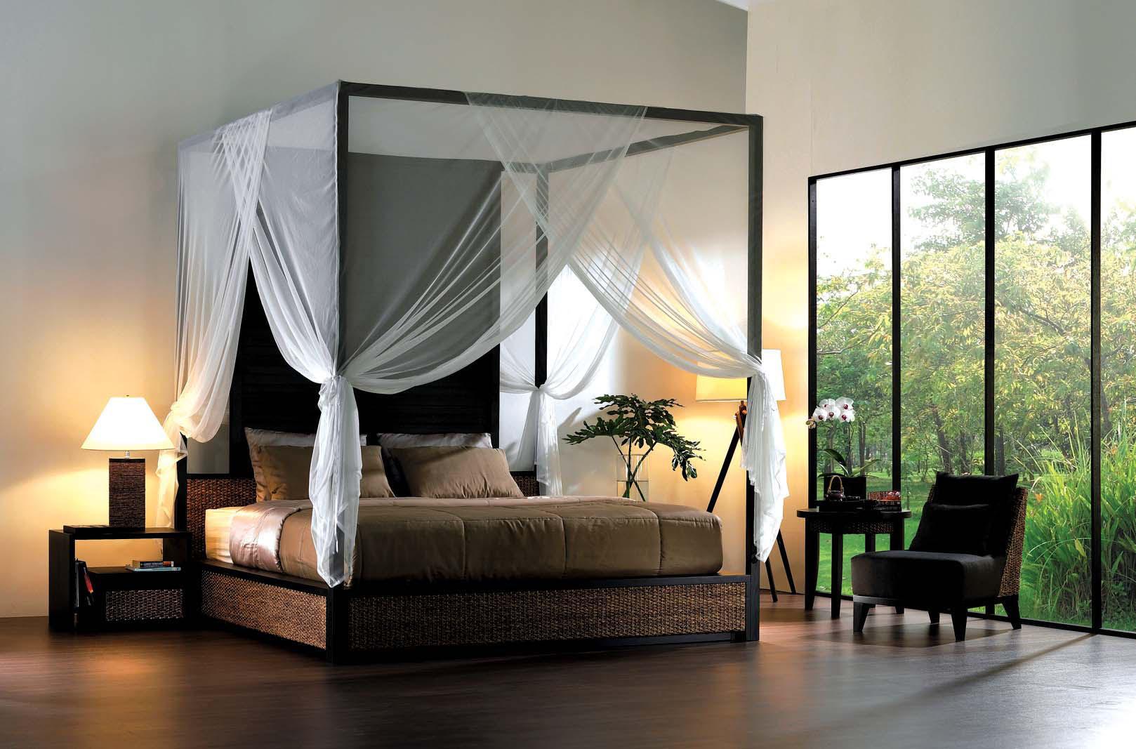 10 Desain Kamar / Tempat Tidur Mewah Dengan Kanopi | Seputar Semarang