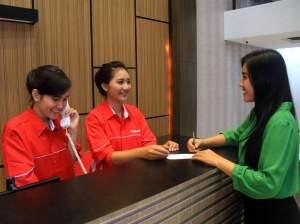 Foto Receptionist Hotel