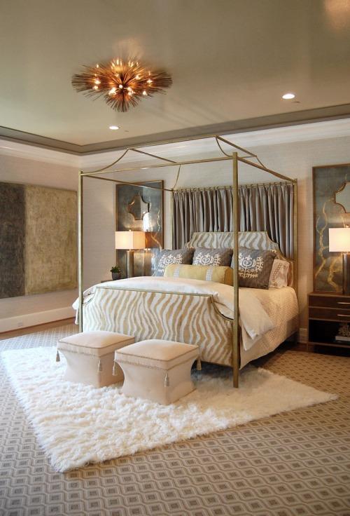 10 desain kamar tempat tidur mewah dengan kanopi