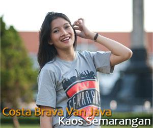 Kaos dan Souvenir Semarangan