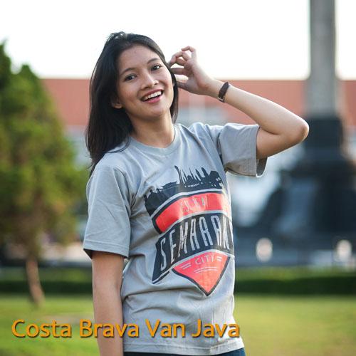 Costa Brava van Java, Kaos dan Souvenir Semarangan